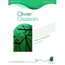 Olivier Chassain - Brèves de pupitre - premier cahier