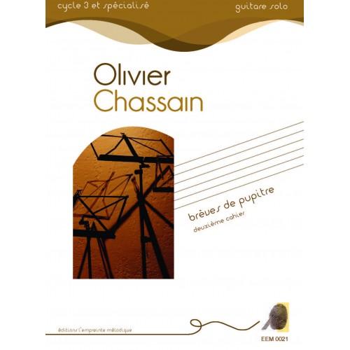 Olivier Chassain - Brèves de pupitre - deuxième cahier