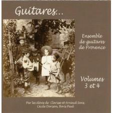 Approche de la guitare - vol. 3 et 4