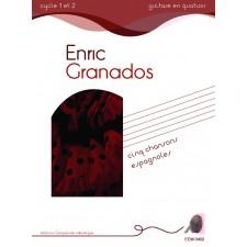 Enric Granados -  Cinq chansons espagnoles - quatuors