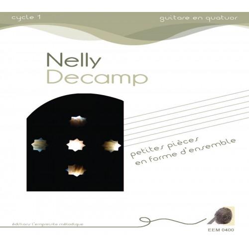 Nelly Decamp - petites pièces en forme d'ensemble