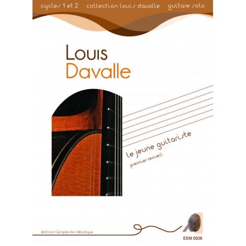 Louis Davalle - Le jeune guitariste