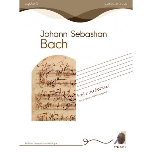 Johann-Sebastien Bach - Trois Sinfonias