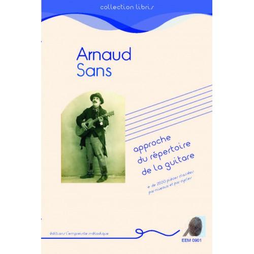 Arnaud Sans - Approche d'un répertoire