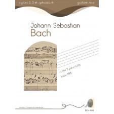 Jean-Sebastien Bach - suite n°3 pour luth BWV 995