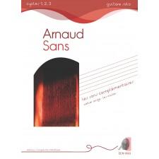Arnaud Sans - Les sons complémentaires - cahier rouge