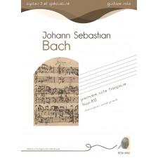 Jean-Sebastien Bach - Première suite française