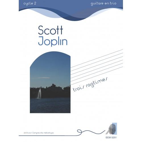 Scott Joplin - trois ragtimes
