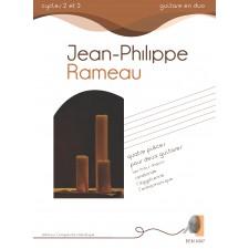 Jean-Philippe Rameau - quatre pièces pour deux guitares