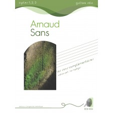 Arnaud Sans - Les sons complémentaires cahier vert