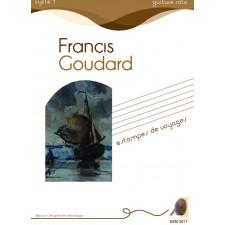 Francis Goudard - Estampes de voyages