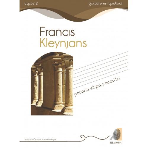Francis Kleynjans - Pavane et Passacaille