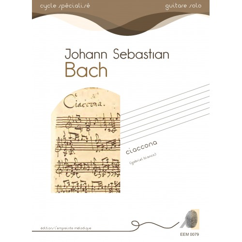 jean-Sebastien Bach - Ciaccona