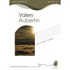 Valéry Aubertin - 3ème sonate pour guitare