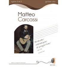 Matteo Carcassi - 25 Etudes mélodiques et progressives