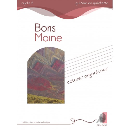 Boris Moine - Colores argentinos