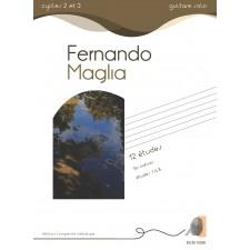 Fernando Maglia - 12 études 1er cahier