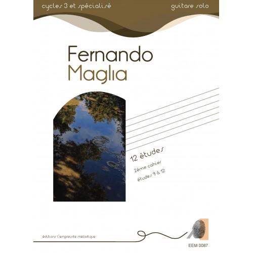 Fernando Maglia - 12 études 2ème cahier