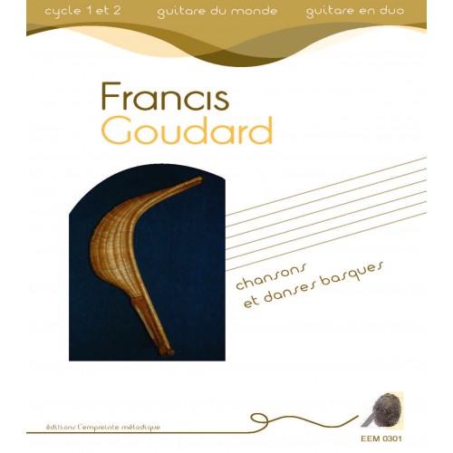 Francis Goudard - Chansons et danses basques - duos de guitare